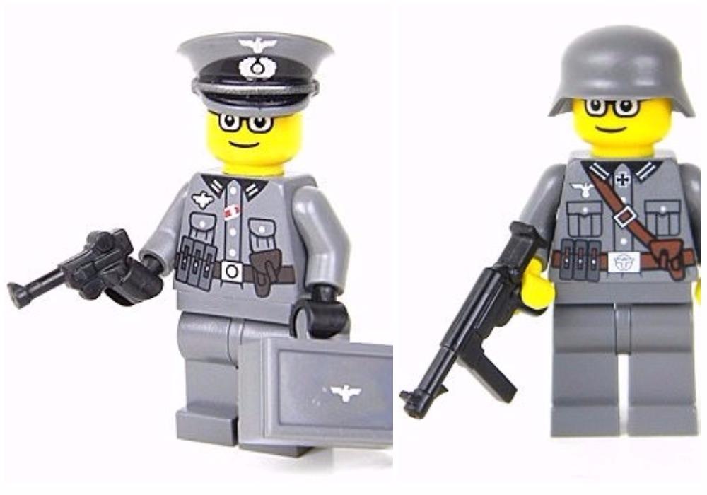 Pešák, nebo oficír? Autor myslel na všechny šarže a typy zástupců nacistické armády..