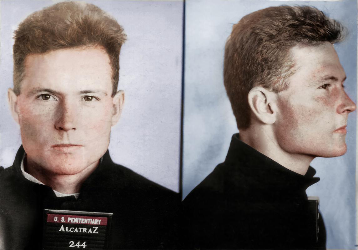 Pohledný Henri Young se z Alcatrazu pokusil utéct, marně. Když si odseděl trest, beze stopy zmizel.