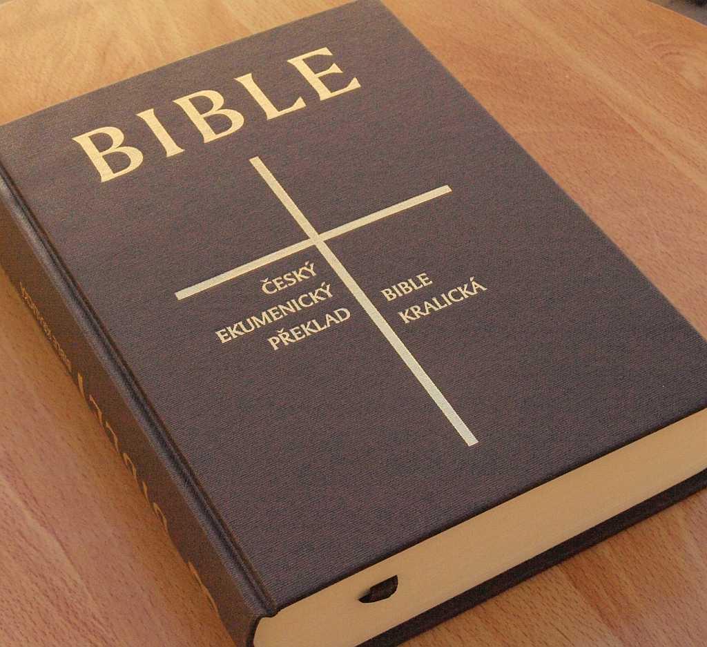 Bible tedy dozná značných změn