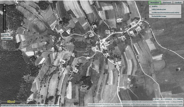 ortofoto_mapa_kleni_1952