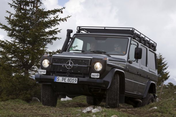 The Mercedes-Benz G-Class Professional (5)