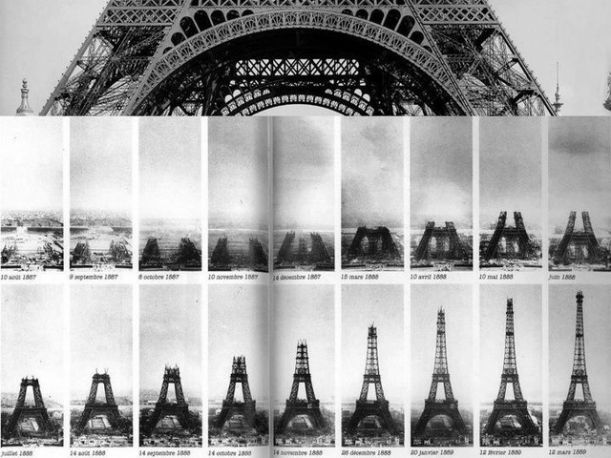01The-different-stages-of-the-construction-of-the-Eiffel-Tower