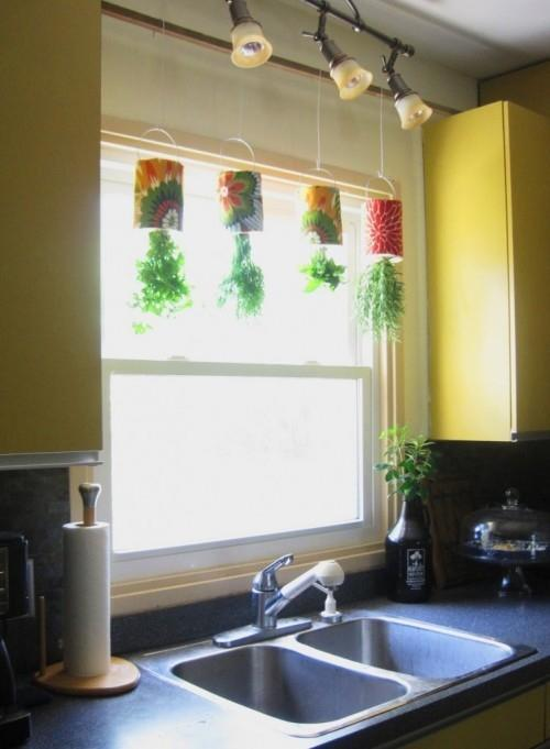 how-to-turn-coffee-tins-into-a-hanging-herb-garden