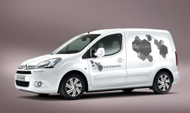 New Electric Citroen Berlingo van