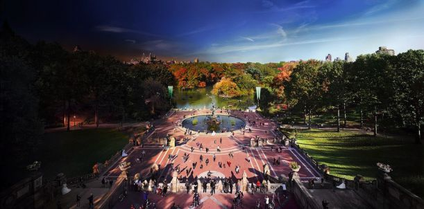 Bethesda Fountain, Central Park, NYC