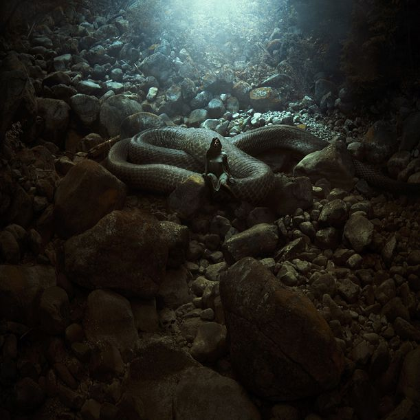 Karezoid-Michal-Karcz-The-Serpent's-Lair1