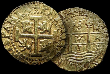 Golden Coins from Lima