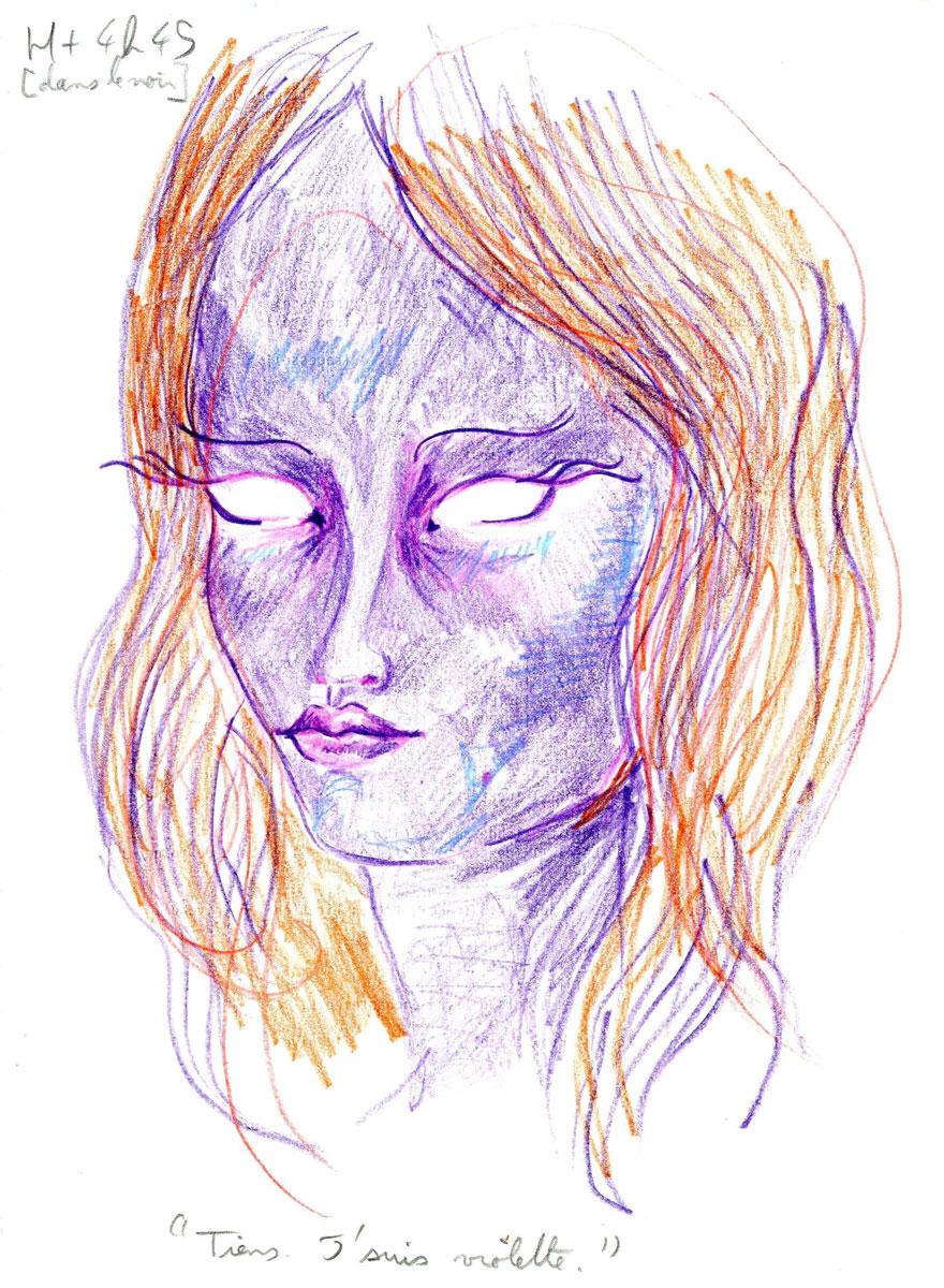 Po užití LSD postupně dochází ke změnám vnímání obvykle ve smyslu dramatického zintenzívnění barev, víření vzorů, pohybech objektů, které jsou v dané chvíli nehybné, iluse a pseudohalucinace.