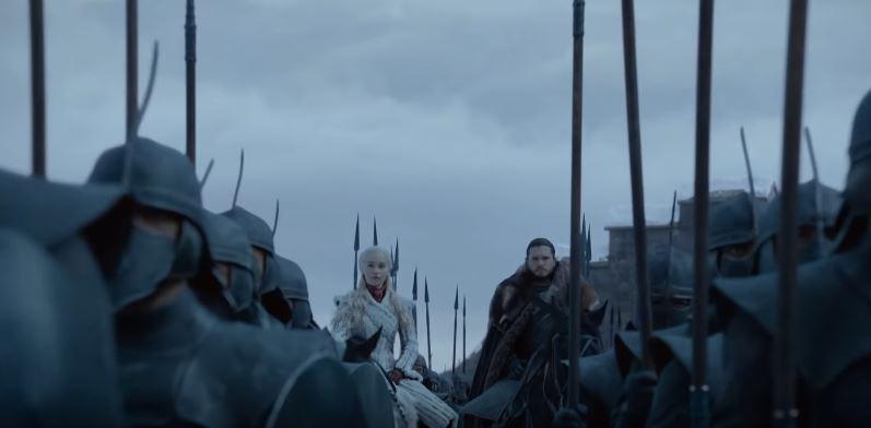 Dlouho avizovaná bitva o Zimohrad bude největší bojovou scénou v celém seriálu, natočit ji trvalo asi 10 týdnů. Ale časy se mění.