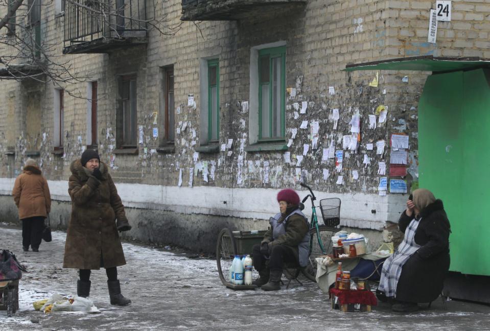 Velkým problémem Ruska je stále chudoba.