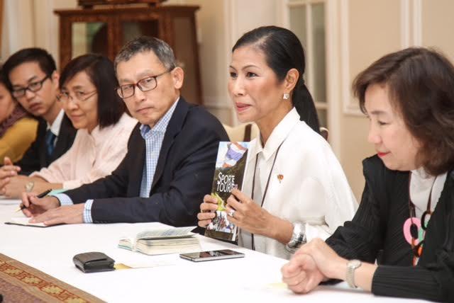 Thajská ministryně sportu představila svou golfovou vizi.