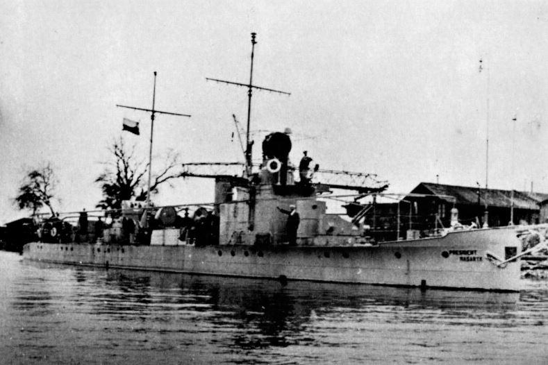 47,5 metru dlouhá hlídková loď Prezident Masaryk byla největším plavidlem, kterým kdy disponovalo československé válečné námořnictvo.