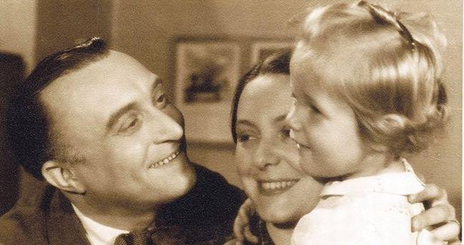 S manželkou Alicí a dcerou Janou