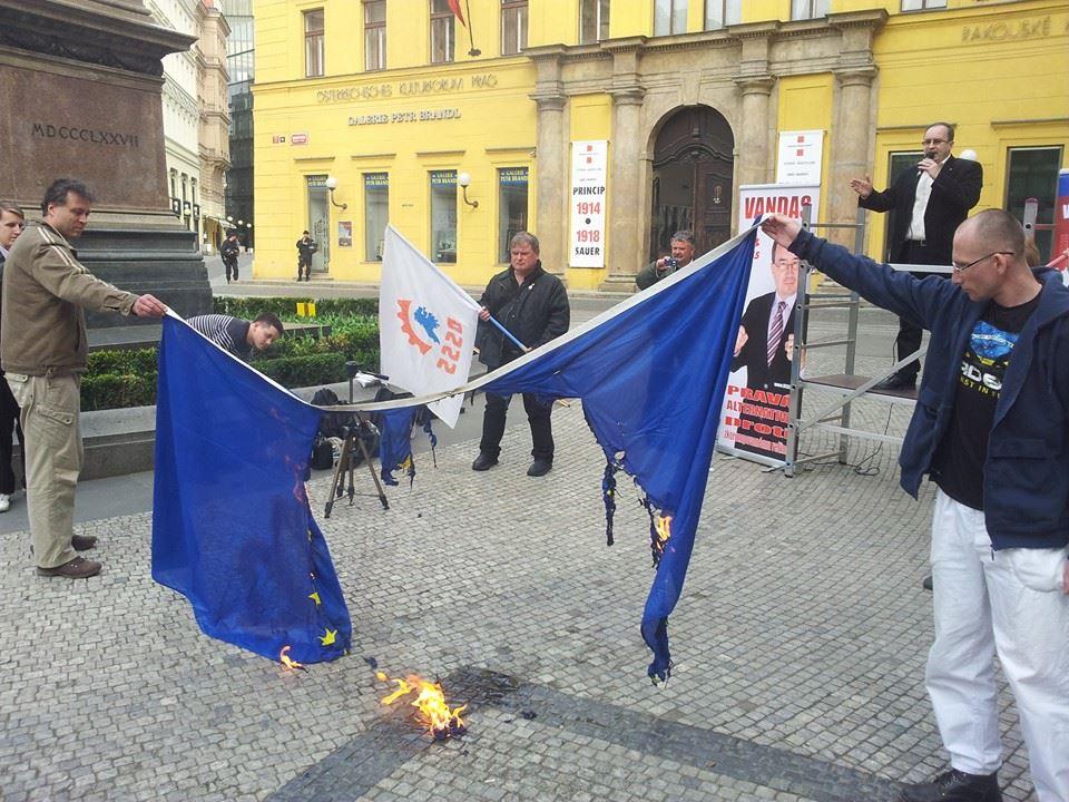 DSSS odstartovala kampaň k volbám do Evropského parlamentu.