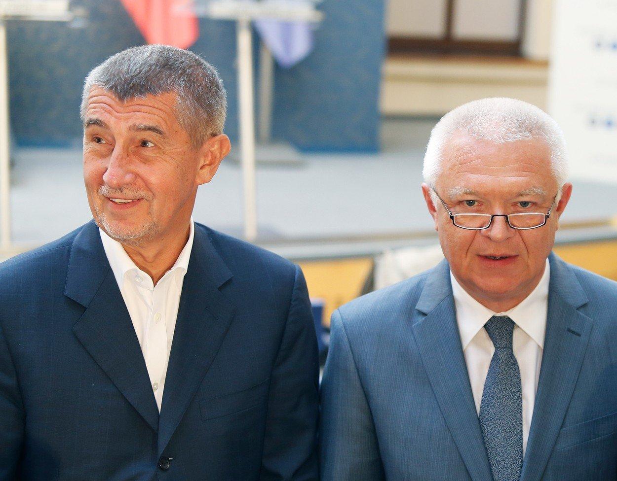 Nerozlučná dvojice? Andrej Babiš a Jaroslav Faltýnek to spolu táhnou už od roku 2001.