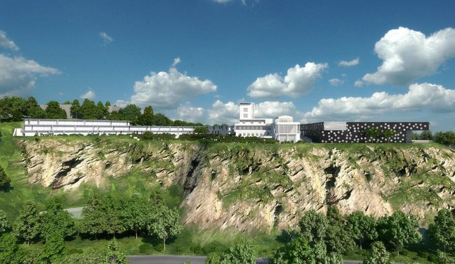 Nějak takto by měly budoucí Barrandovské terasy vypadat.