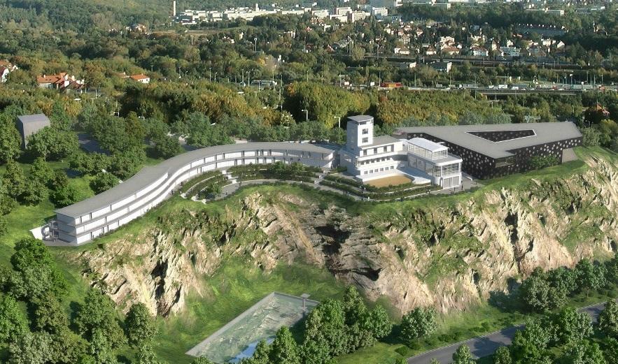 Vizualizace budoucí podoby Barrandovských teras