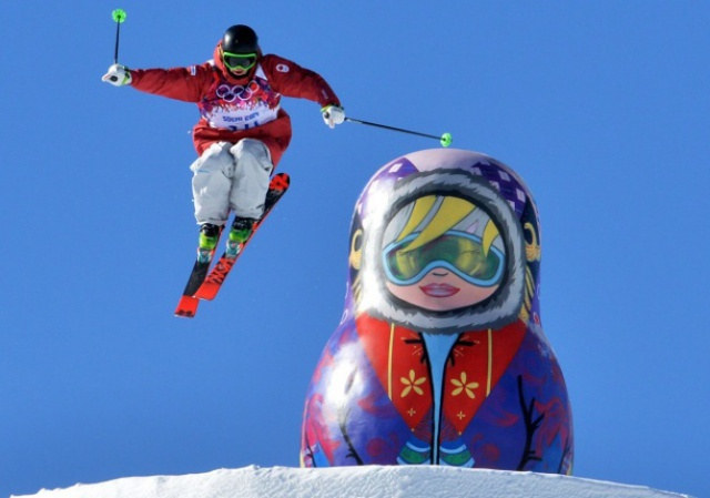 Winter Olympics 2014. Snowboard. Slopestyle. Trainings