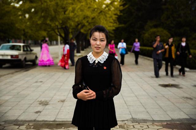 V přístavním městě Wonsan