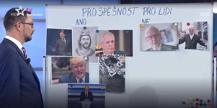Kdo je prospěšný pro lidi a kdo ne? O tom na TV Barrandov rozhodoval Jiří Ovčáček.