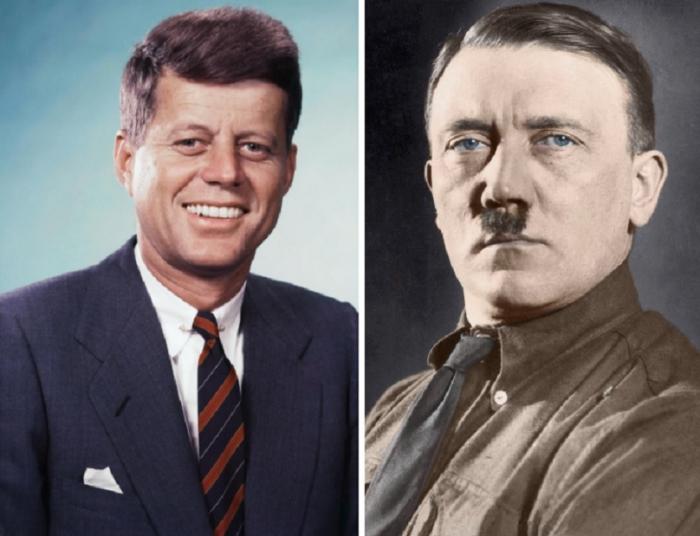 Že spolu neměli Kennedy a Hitler nic společného? Možná naopak sdíleli víc, než by chtěli.