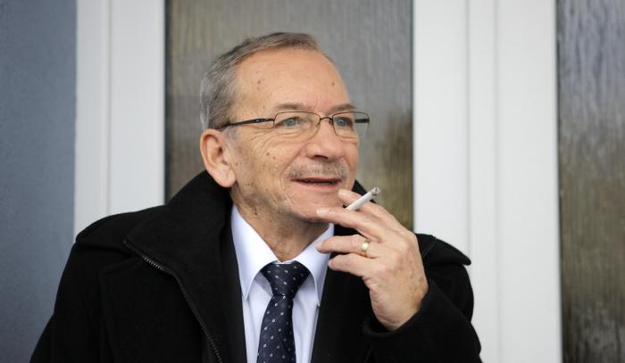 Nejoblíbenější český propagátor kouření je bezesporu Jaroslav Kubera.
