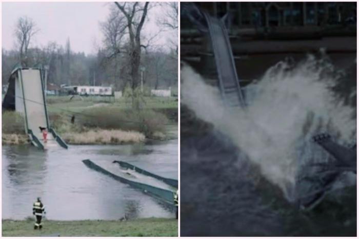Pří bourání Trojské lávky se parta smrtijedů inspirovala útokem, který před lety provedla v Londýně.