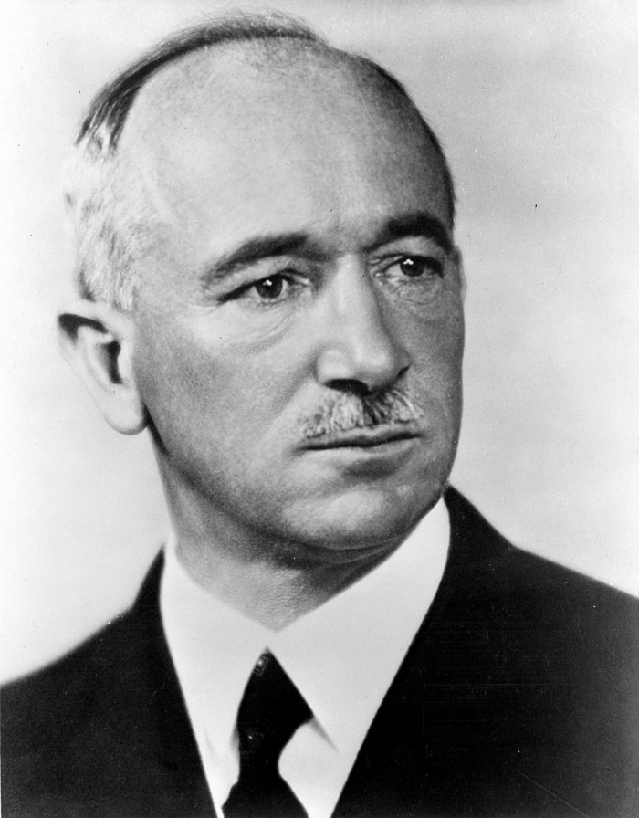 Československý prezident Edvard Beneš.