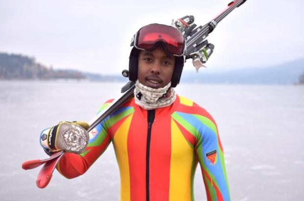 Historii přepisuje také Shannon-Ogbani Abedo; je prvním zástupcem Eritreji na ZOH.