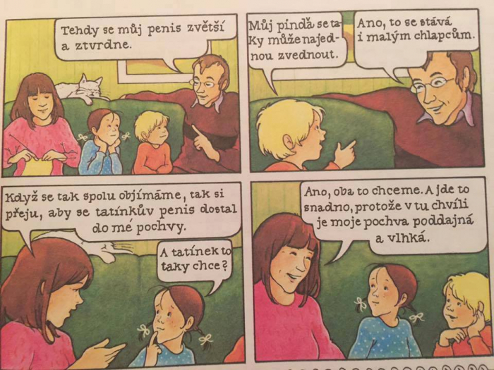 Petr, Ida a miminko, švédský komiks pro mládež z roku 1977 (od Grethe Fagerström a Gunilly Hansson)