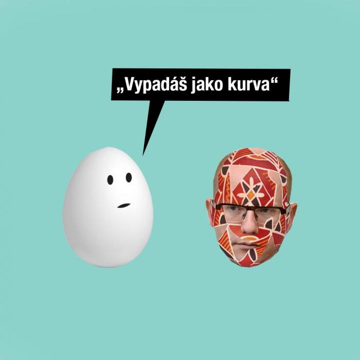 Jako každý rok, tak i letos byl Bohuslav Sobotka na Velikonoce za kraslici.