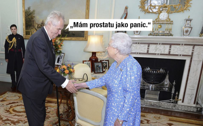 Turista Miloš Zeman pověděl královně, co měl na srdci, čímž započal výjimečné vztahy mezi Velkou Británií a Českou republikou