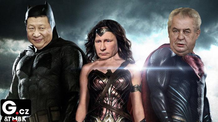Fantastická rudá trojka