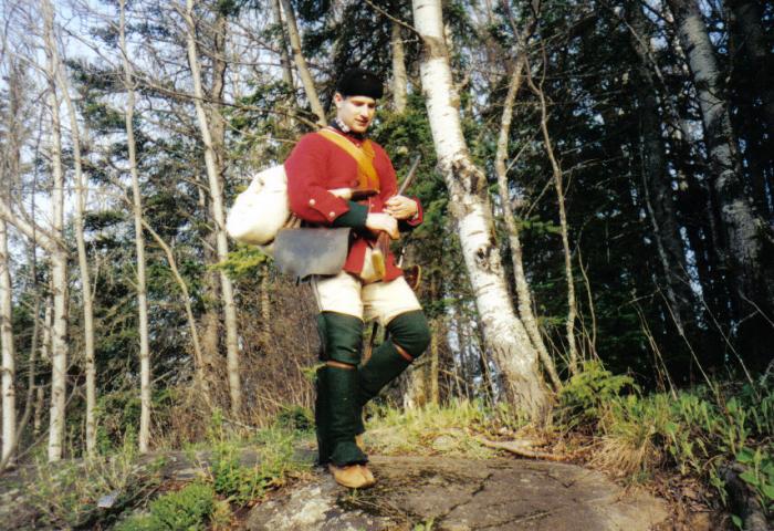 Můžete si klidně vyjít v plné zbroji a výstroji britského 55. pěšího Westmorlandského pluku z období poloviny 18. století.