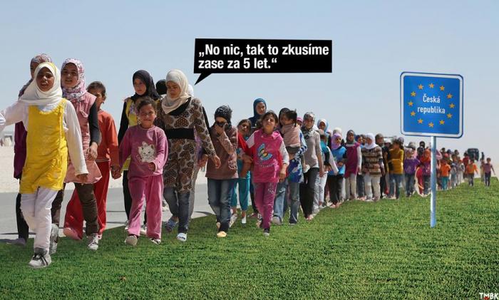Migranti opouští své pozice
