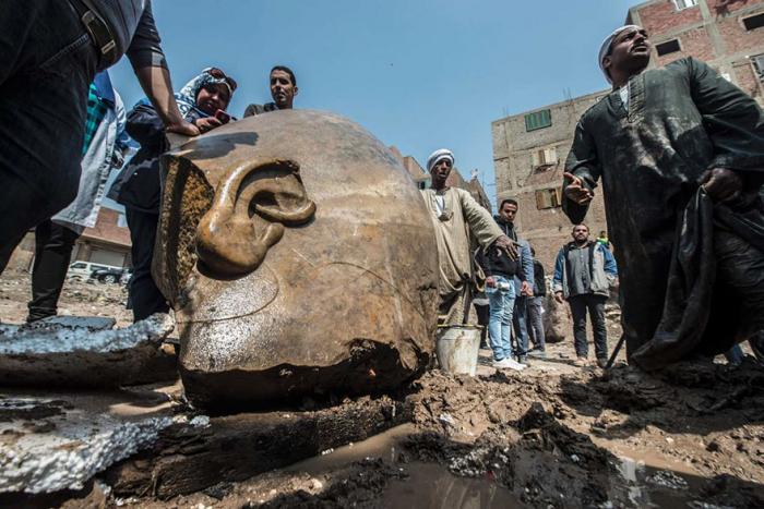 Tento kolosální objev byl učiněn týmem archeologů z Německa a Egypta.