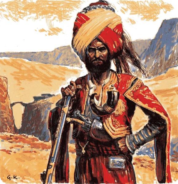 Muslim, jak nám ho představil Karel May.