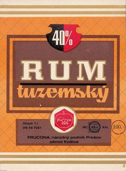 Tuzemák se tehdy jmenoval Rum a v zimě bývalo sněhu po kolena