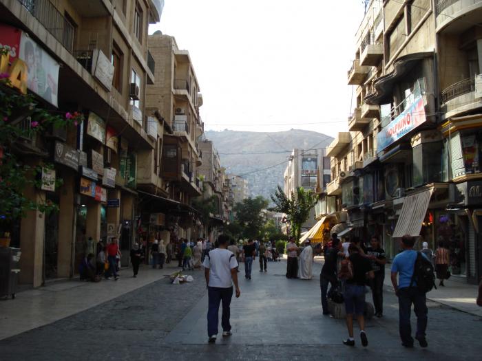 Strach a hnus a bordel v Damašku.