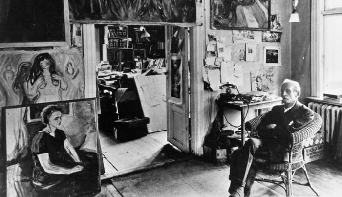 Smrt a tajemné příhody Edgara Allana Poea, které malému Munchovi vyprávěl jeho otec, měly na jeho tvorbu zásadní vliv. Tohle je pohled do útrob jeho francouzského ateliéru.