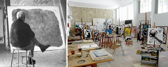 Miróova představivost byla nevyčerpatelným zdrojem novotvarů a detailů na plátně.