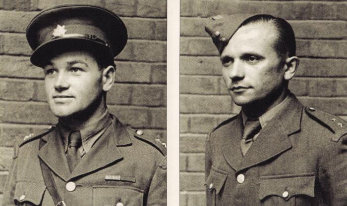 Jan Kubiš a Jozef Gabčík, hlavní osobnosti operace Anthropoid a dva z největších československých hrdinů všech dob.