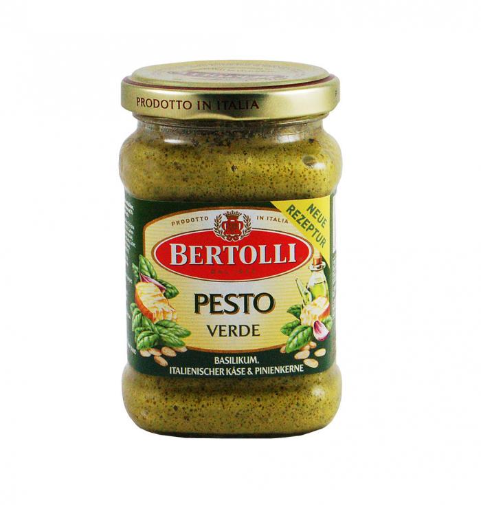 To je pesto, které namísto údajných nejlepších přísad obsahovalo hlavně bramborové vločky, rostlinný olej a aroma