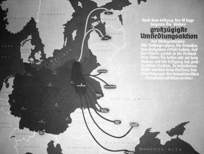 Nacistické Německo hodlalo expandovat přes celou Evropu. Češi měli to štěstí, že nebyla naplánována jejich totální likvidace, ale 'jen' přesídlení.