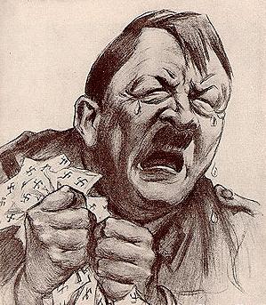 Ještě, že se toho Adolf nedožil. Ten by byl z toho nadmíru smutný.