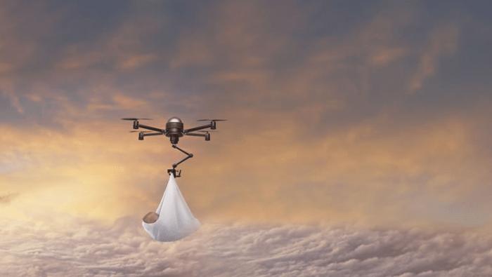 Drony by postupem času mohly nahradit i čápy.