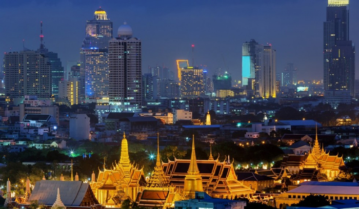 Bangkok je město kontrastů.