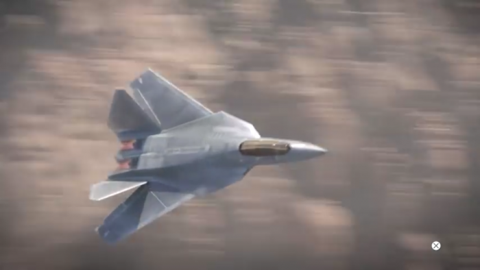Tak takhle ve hře Call of Duty: Advanced Warfare stíhačka F-52 vypadá. Pěkná, co?