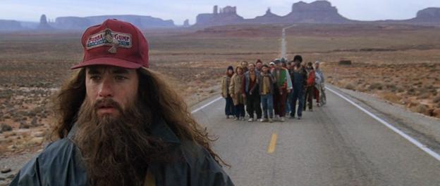 Forrest mohl ve filmu běžet klidně do posledního soudu, pro pokračování snímku ale nedoběhl.