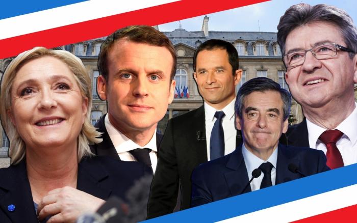 Kdo z pětice kandidátů vytěží na teroristickém útoku? Krajně pravicová Marine Le Penová, levicový Jean-Luc Mélenchon nebo někdo z centristů, kteří se k tématu nevyjadřují?